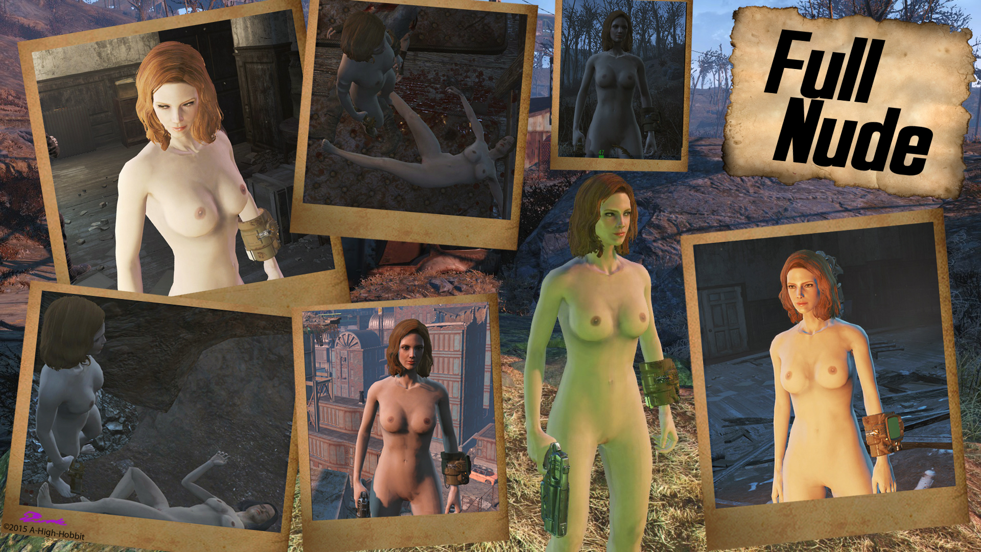 Fallout nude pic strip exposed scene