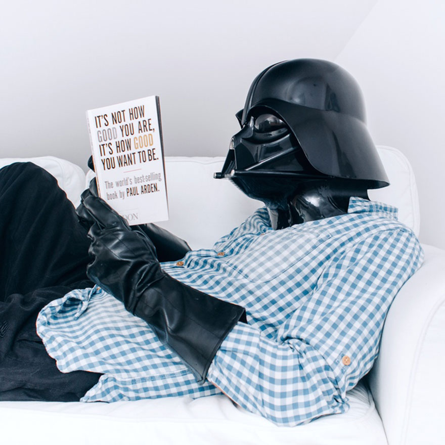 Darth Vader daily routine