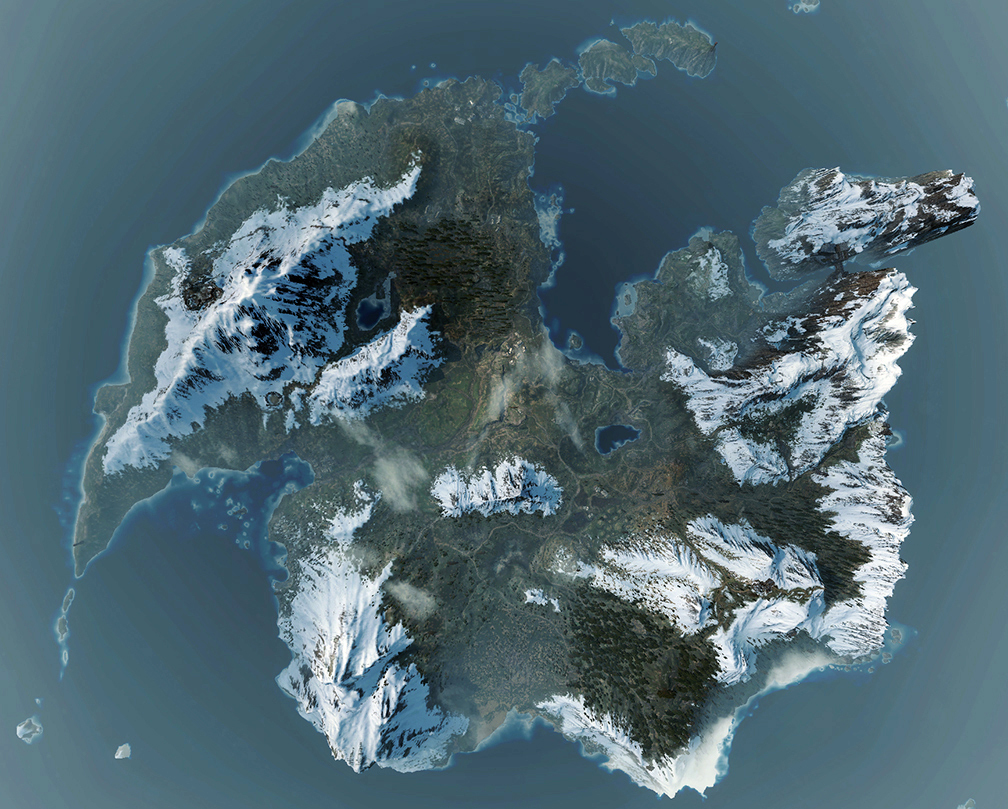 witcher maps