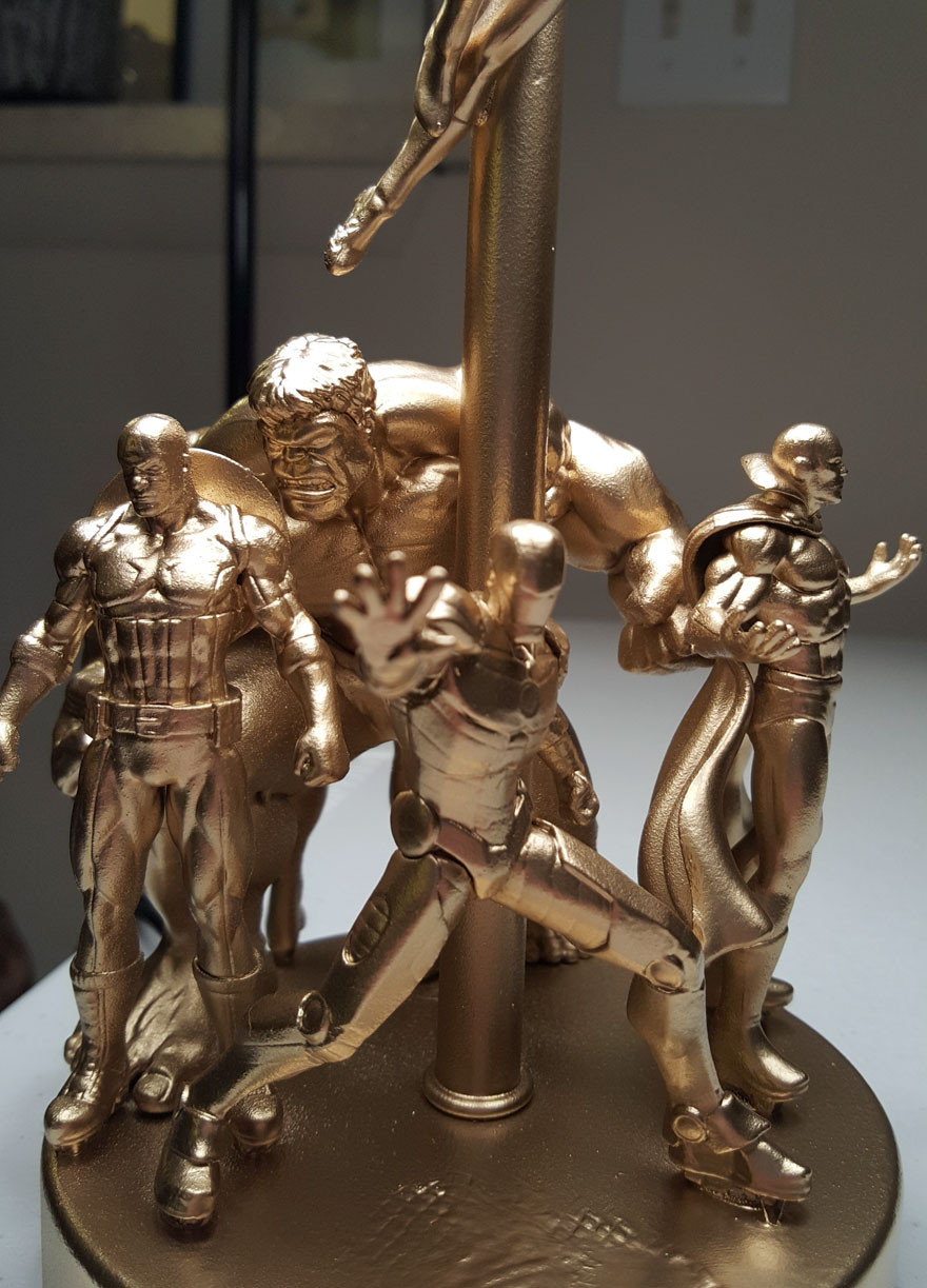 Superheroes lamp