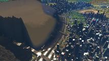Sledujte video, jak město ze Cities: Skylines zavalí tsunami vytvořená odpadem z kanalizace