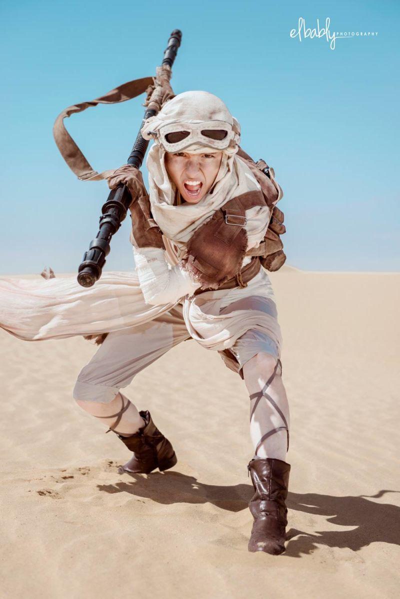 Desert cosplay