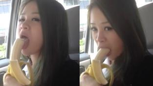 V Číně zakázali streamovánÍ erotického pojídání banánů