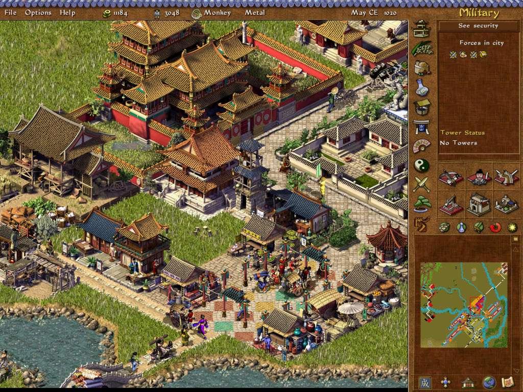Для меня это лучшая градостроительная и экономическая стратегия.Переносит в эпоху древнего Китая.В игре акцент не на...
