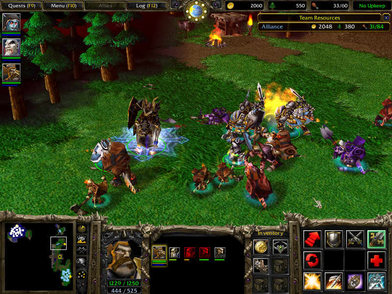 Blizzplanet warcraft iii: dawn of chaos mod - multiplayer released