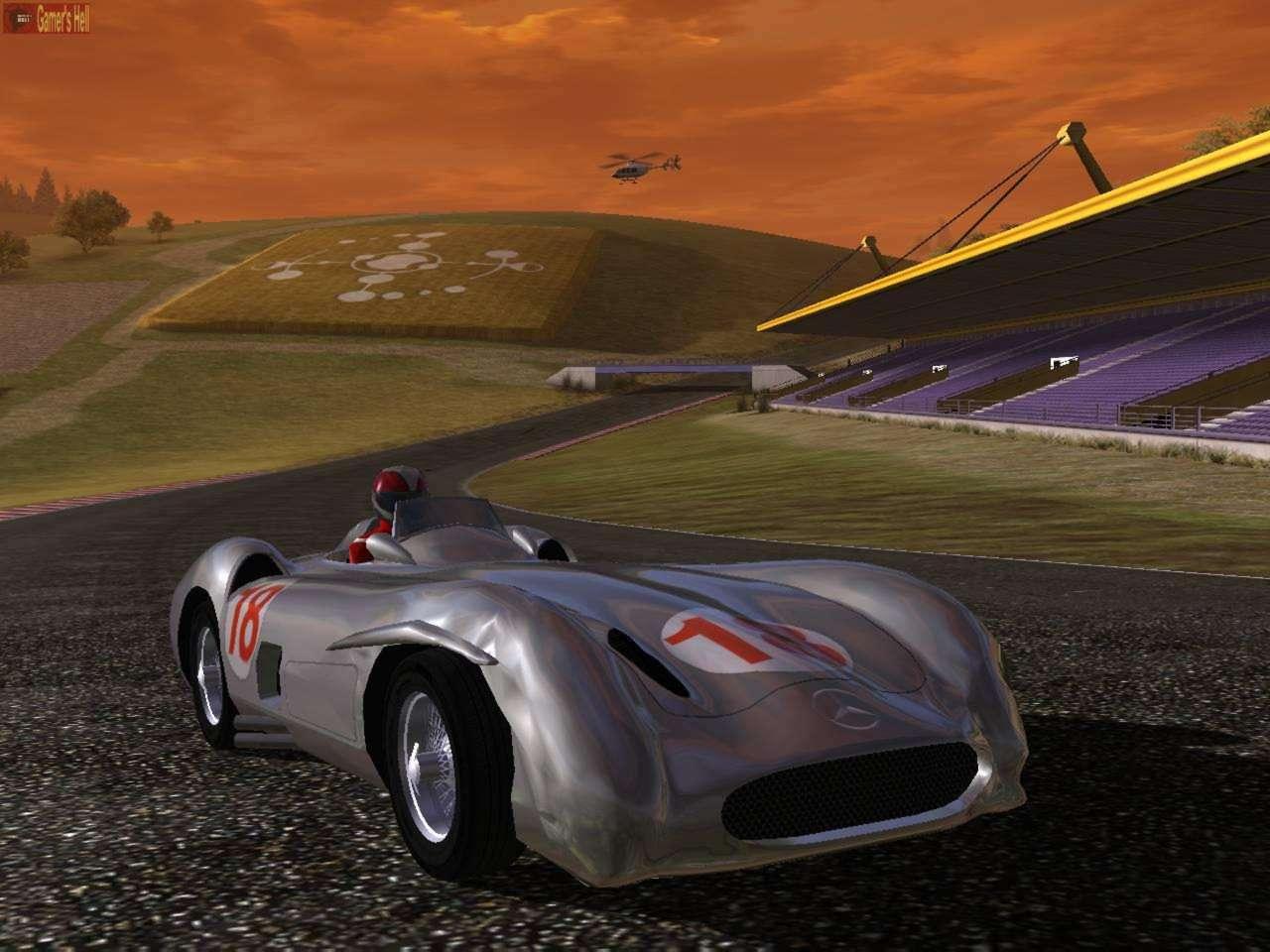Mercedes benz world racing novinky na pc for Mercedes benz games