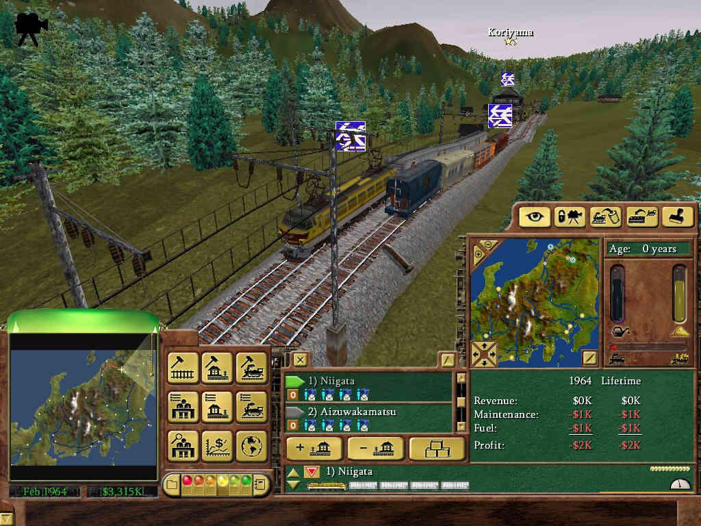 railroad tycoon 3 tipps