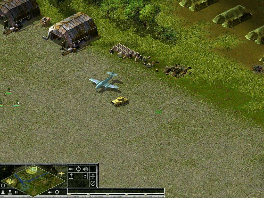 Cold war conflict game