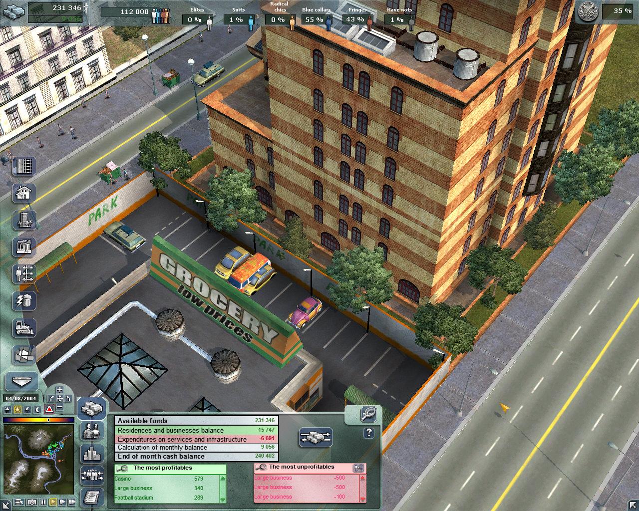 a city life