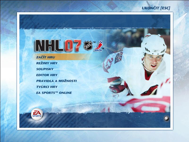 NHL 07 - mega-recenze cesk� PC verze - Games.cz
