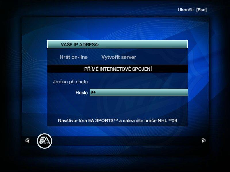 Cl�nek na pr�n�: Recenze PC verze NHL 09 - Games.cz