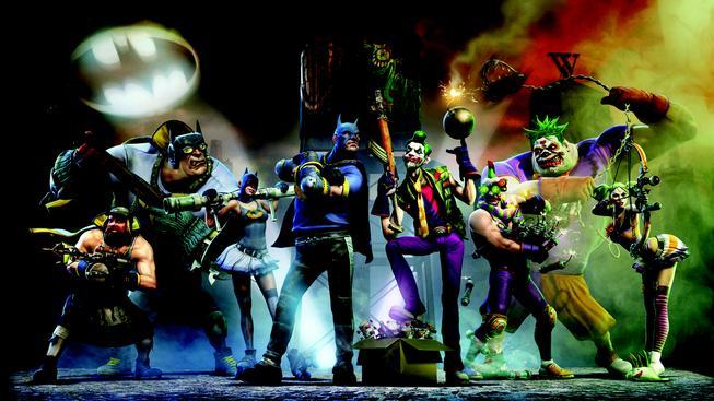 Batmanova základna v podání Gotham City Impostors