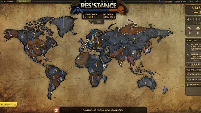 Zahrajte si zábavnou tahovku ze světa Resistance 3