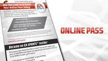 Hráči si stěžují na problém s online pass kódy k EA hrám