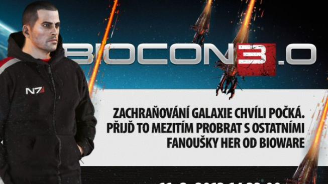 Přijďte na třetí sraz fandů her od BioWare - BioCon 3.0