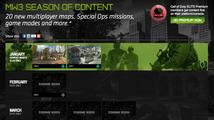 Jaké přídavky vyjdou pro Modern Warfare 3 do září?