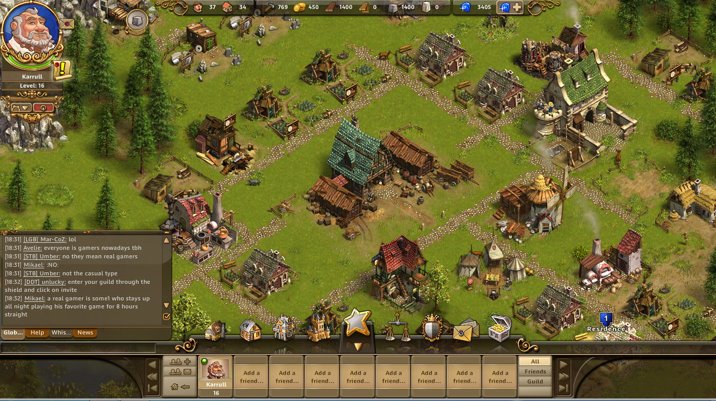 strategie online game