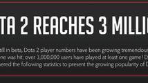 DotA 2 načala čtvrtý milion hráčů