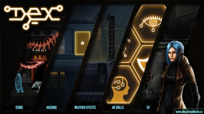 Český kyberpunkový Dex bude hra s napůl otevřeným světem