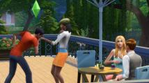 Simáci slaví na večírku vydání Sims 4