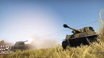 War Thunder předvádí nahrávání zvuků tanků a děl