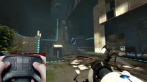 Video prezentace Steam ovladače při hraní Civ V a Portal 2