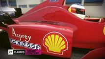 Devadesátkoví jezdci a tratě pro F1 2013 už jsou dostupné všem