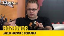 Rozhovor: Jakub Hussar o českém karetním RPG Coraabia
