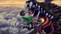 Ručně kreslená dračí apokalypsa přichází v EarthNight