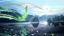 Sony oznámila a rovnou vydala hypnotickou arkádu Entwined