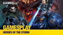 GamesPlay: Adam hraje alfu MOBA hry Heroes of the Storm
