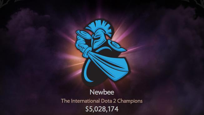 dota 2 the international 4 newbee win