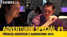 Adventurní speciál #1 - přehled adventur z Gamescomu 2014