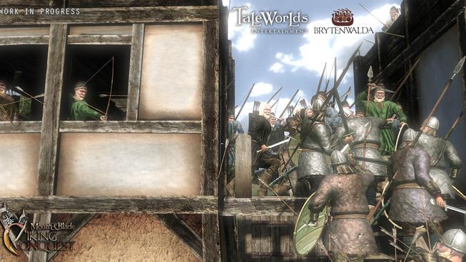 Поделиться вКонтакте. Mount & Blade: Warband = Анонсировано новое DLC