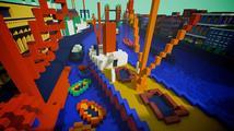 Slavné obrazy ožívají jako interaktivní mapy v Minecraftu