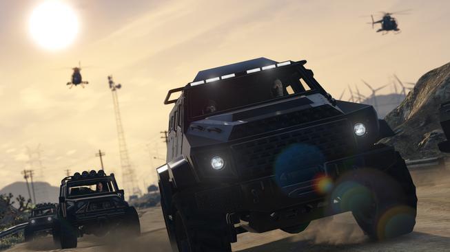 GTA Online  - heists