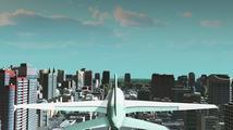 V modu Flight Cimulator se můžete proletět městem v Cities: Skyline