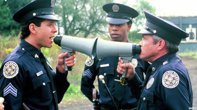 policeacademymegaphone