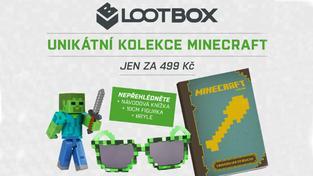 Novinka na českém trhu! LootBox přichází s kolekcí Minecraftu