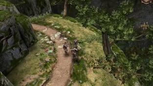 Zaklínač byl původně akční izometrické RPG hraničící s diablovkou