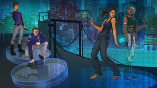 Technobabylon - recenze výborné kyberpunkové adventury