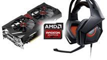 Vyhlášení výherců soutěže s AMD a ASUS o grafickou kartu Strix R9285 a sluchátka Strix Pro