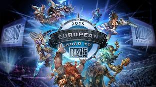 Fotografie z pražského turnaje Road to BlizzCon
