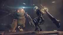 V ačním RPG Nier: Automata se spolu utkají androidi a obrovské stroje