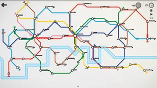 Mini Metro - recenze parádní logické hry