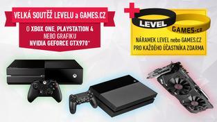Vyhrajte skvělé ceny a získejte zdarma náramek Games.cz i flashku mojeID!