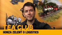 Tea Club #17: Honza Zelený o vláčkové simulaci Logistics