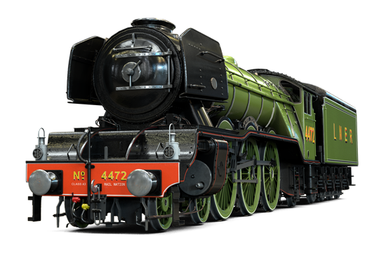 Flying-Scotsman-steam-Engine