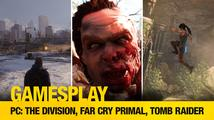 GamesPlay: PC verze Tomb Raider, The Division, Far Cry: Primal