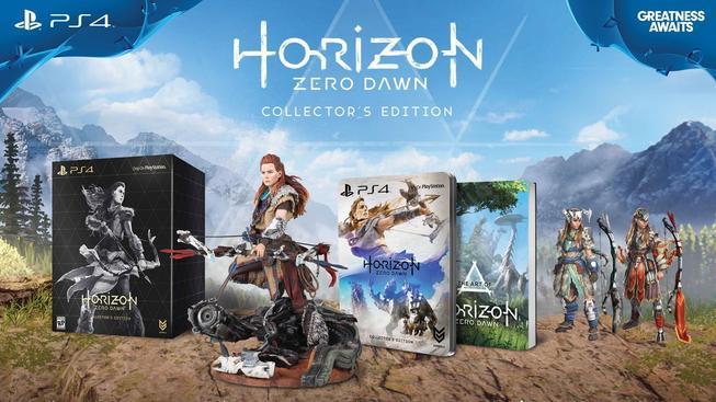 Horizon Zero Dawn Special Editions